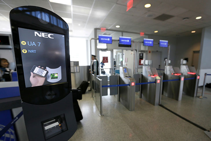 face scans at airport departure gates an investigation